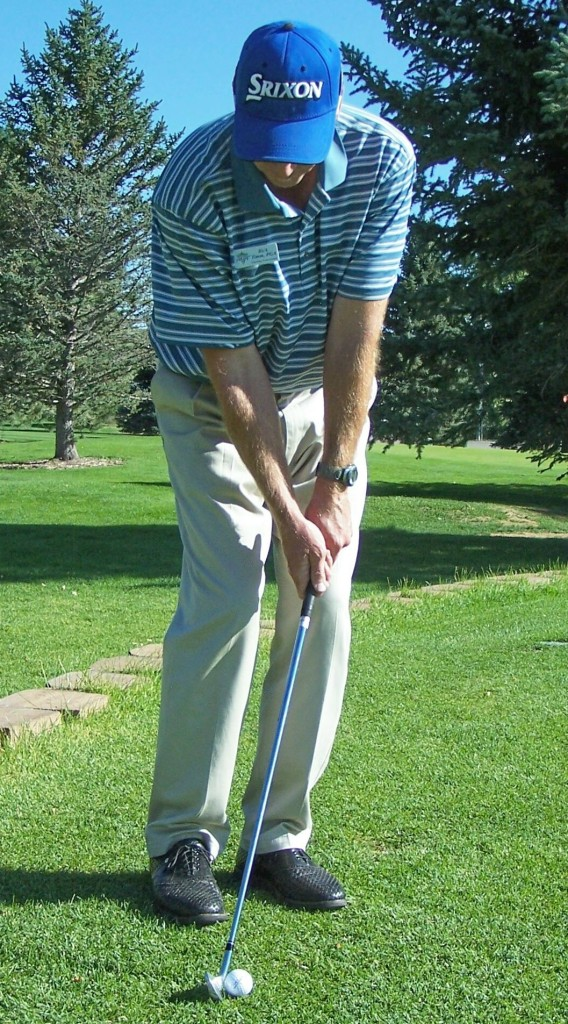 Proper Set-up Position for Chipping
